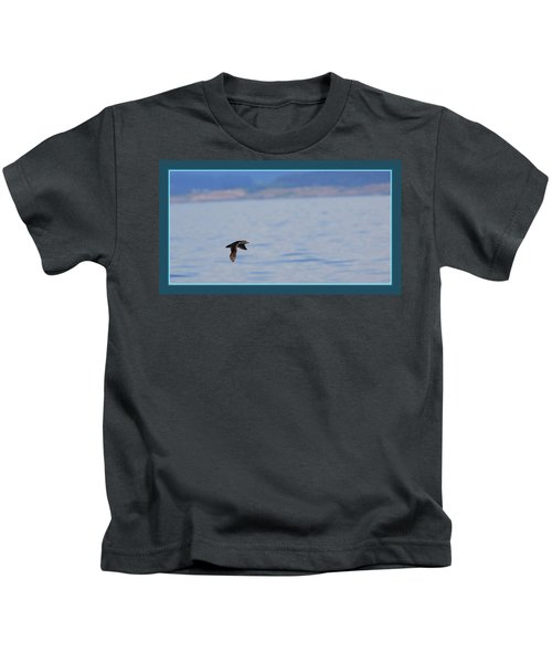 Flying Rhino Kids T-Shirt by BYETPhotography