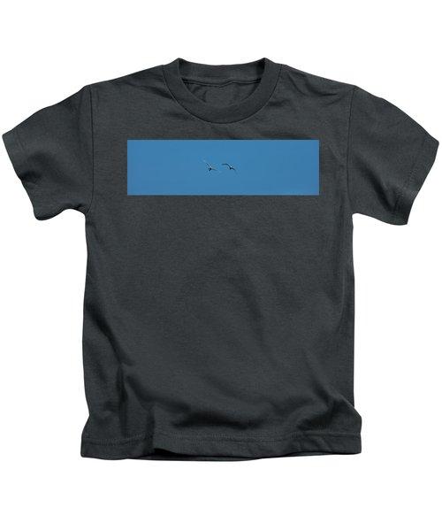 Flying Swans #g0 Kids T-Shirt