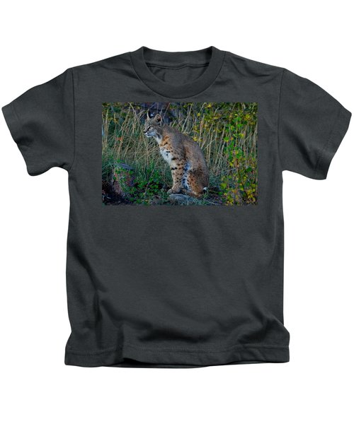 Focused On The Hunt Kids T-Shirt