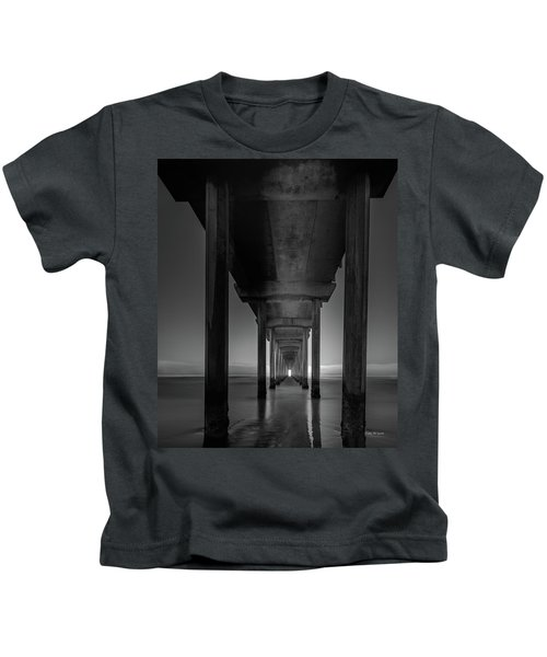 Fog Bank At Dawn Kids T-Shirt