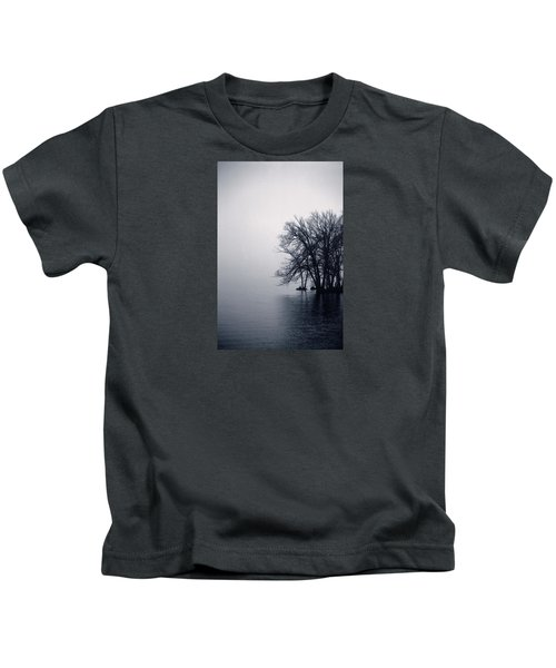 Fog Day Afternoon Kids T-Shirt