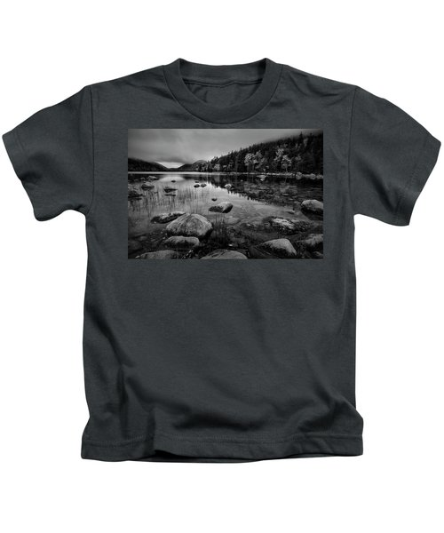 Fog On Bubble Pond Kids T-Shirt