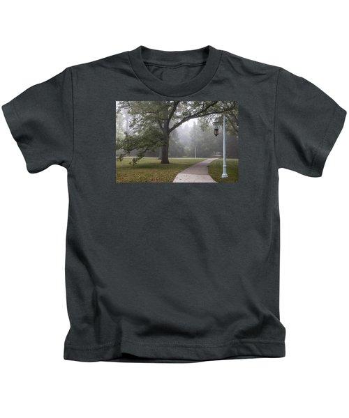 Foggy Campus  Kids T-Shirt