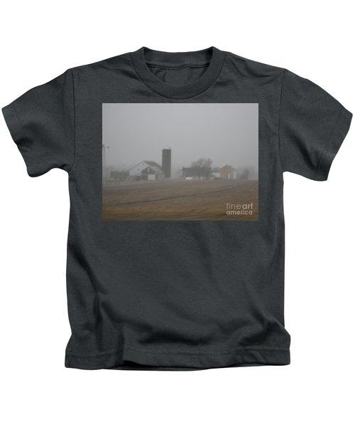 Foggy Evening Kids T-Shirt