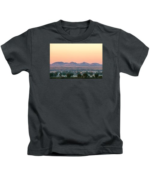 Foggy Harlem Bottom Kids T-Shirt