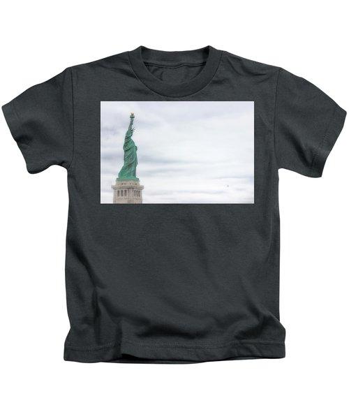 Foggy Liberty Kids T-Shirt