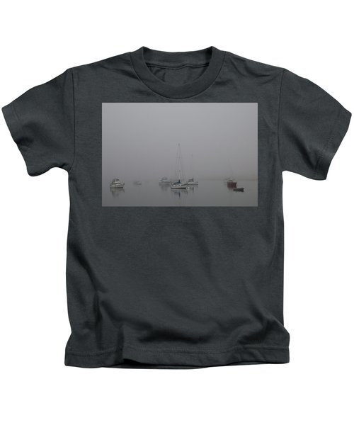 Waiting Out The Fog Kids T-Shirt