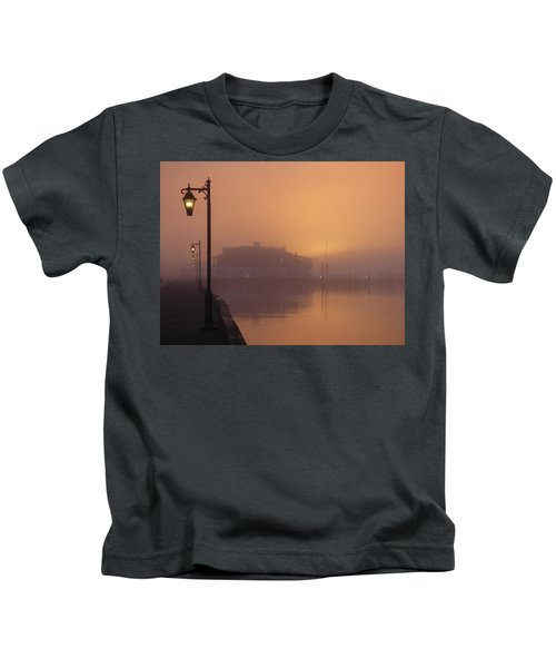 Foggy Sunrise Kids T-Shirt