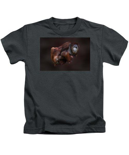 Folded Orangutan Kids T-Shirt