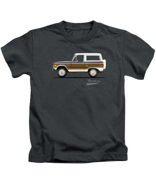 Ford Bronco Ranger 1976 Kids T-Shirt