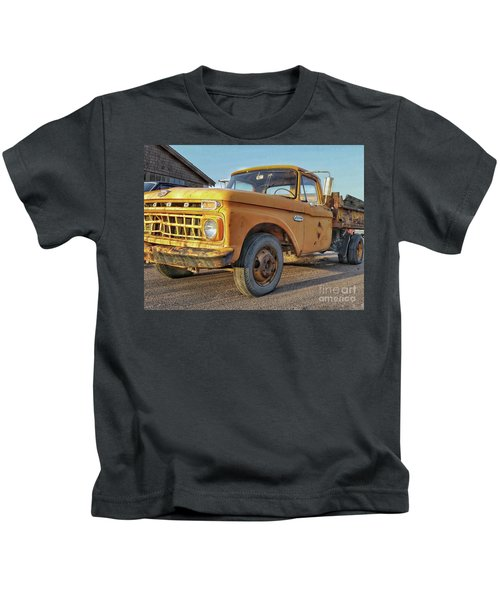 Ford F-150 Dump Truck Kids T-Shirt