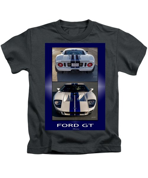 Ford Gt Kids T-Shirt