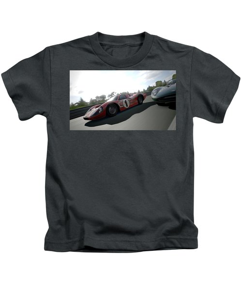 Ford Gt40 Mark Iv Kids T-Shirt
