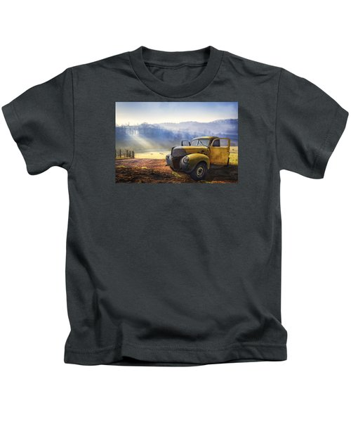 Ford In The Fog Kids T-Shirt
