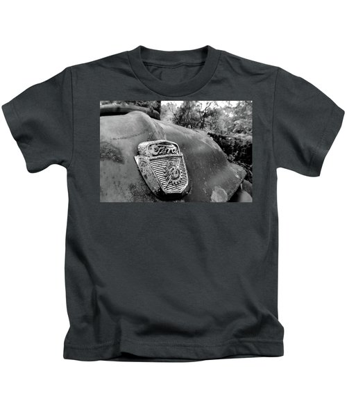 Kids T-Shirt featuring the photograph Ford by Matthew Mezo