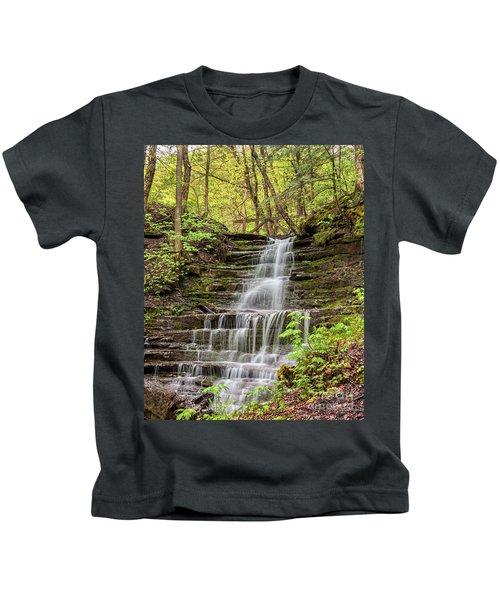 Forest Cascade Kids T-Shirt