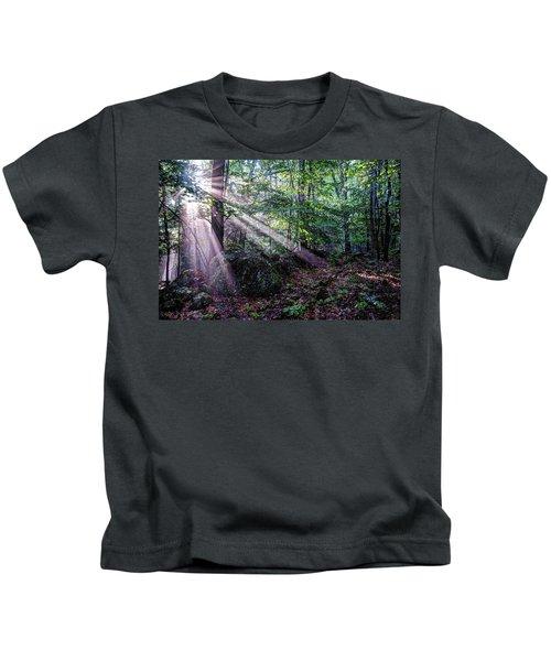 Forest Sunbeams Kids T-Shirt