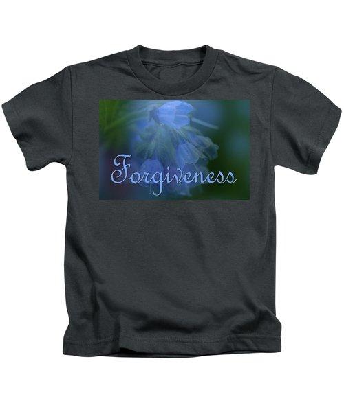 Forgiveness Blue Bells Kids T-Shirt