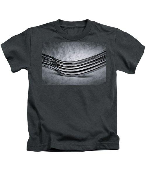 Forks - Antique Look Kids T-Shirt