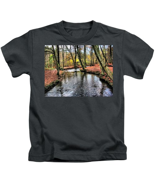Forrest In The Deep Kids T-Shirt
