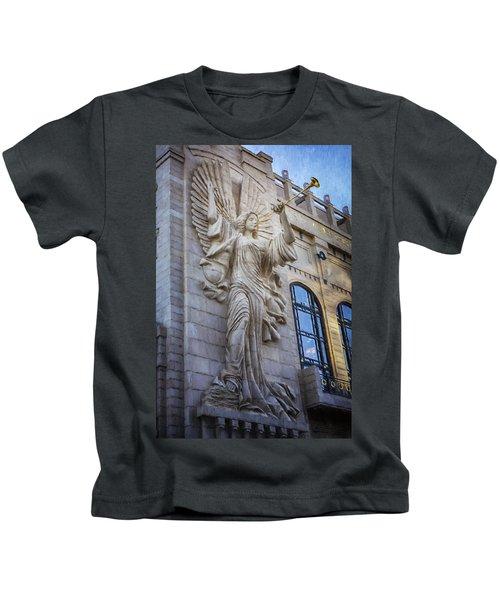 Fort Worth Impressions Bass Hall Angel Kids T-Shirt