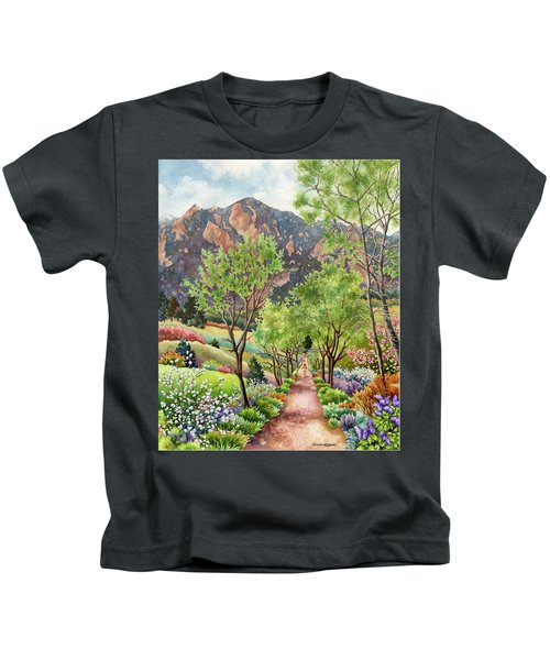 Forty Years Running Kids T-Shirt