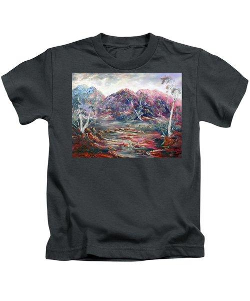 Fountain Springs Outback Australia Kids T-Shirt