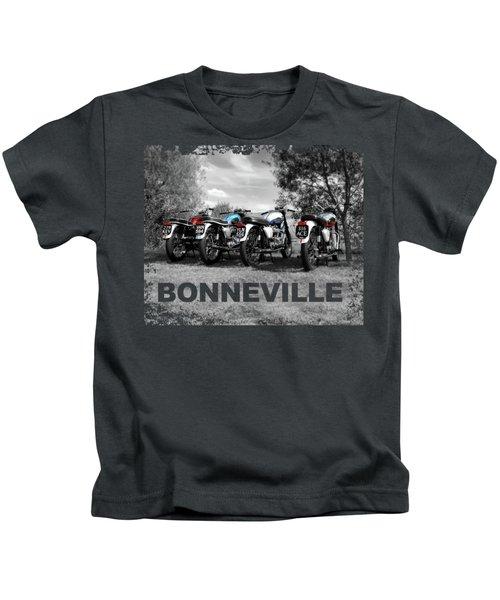 Four Bonnevilles Kids T-Shirt