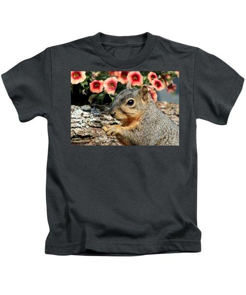 Fox Squirrel Portrait Kids T-Shirt