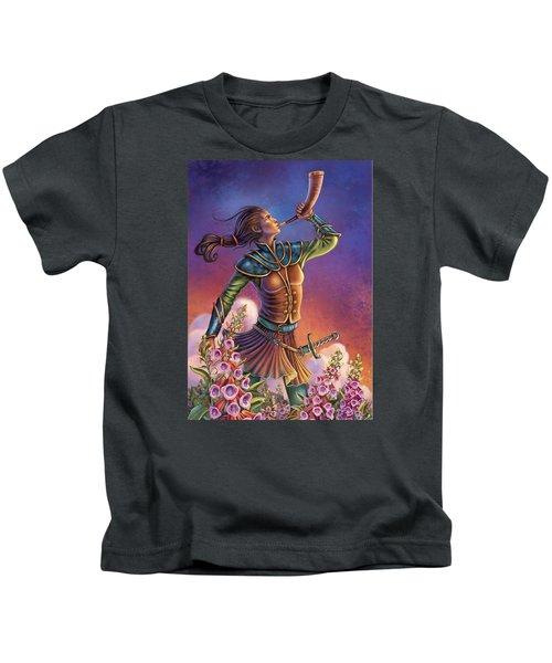 Foxglove - Summon Your Courage Kids T-Shirt