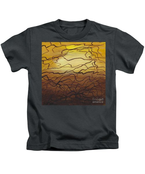 Fractured  Kids T-Shirt