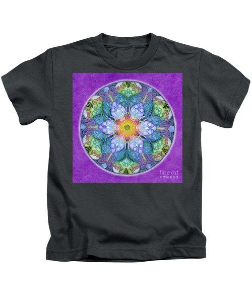 Freedom Mandala Kids T-Shirt