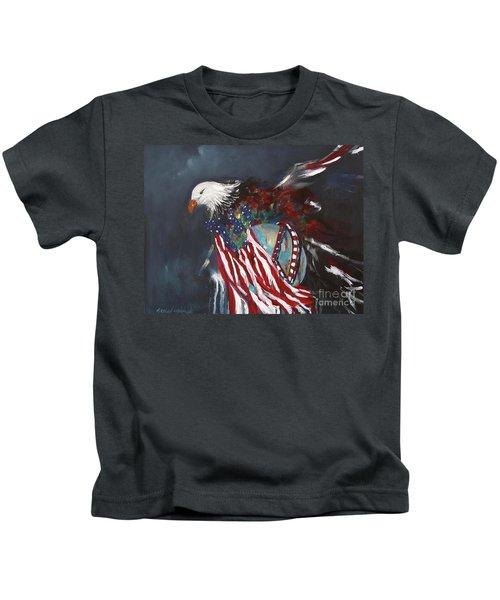 Freedom Rings Kids T-Shirt