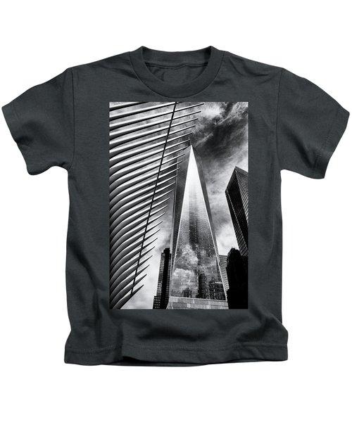 Freedom Tower Kids T-Shirt