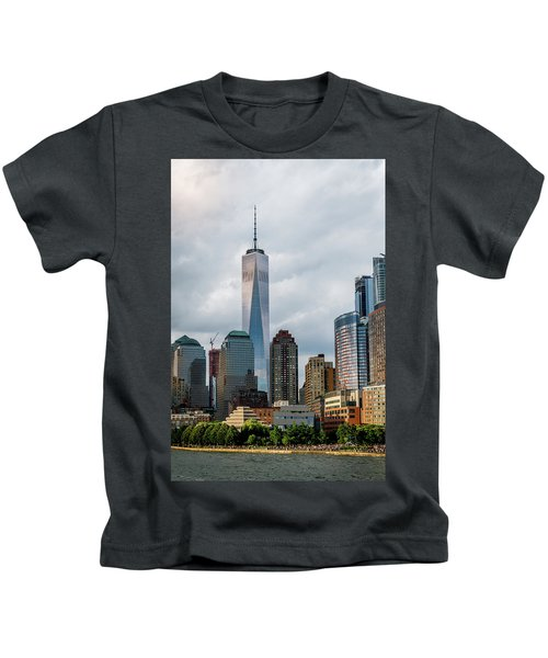 Freedom Tower - Lower Manhattan 1 Kids T-Shirt