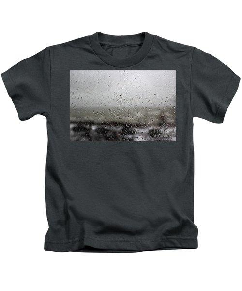 Freezing Rain Kids T-Shirt
