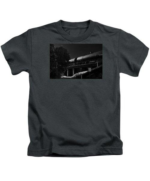 Freight Over Bike Path Kids T-Shirt