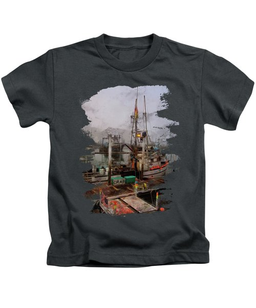 Fresh Live Crab Kids T-Shirt