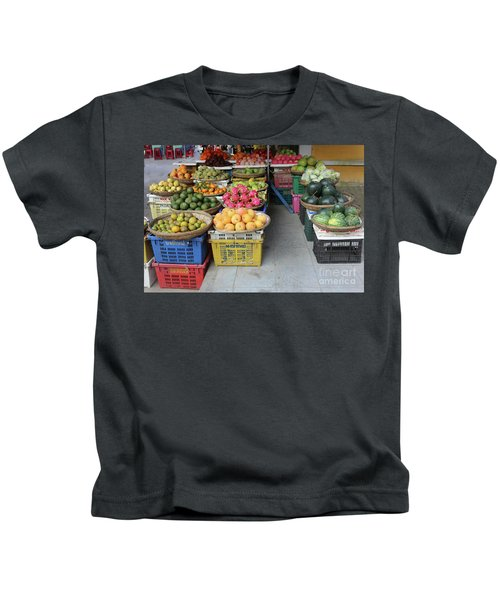 Fresh Veggies Fruit Streets Vietnam  Kids T-Shirt