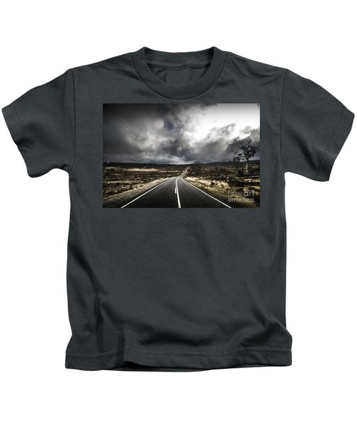 From Cradle To The Grey Kids T-Shirt