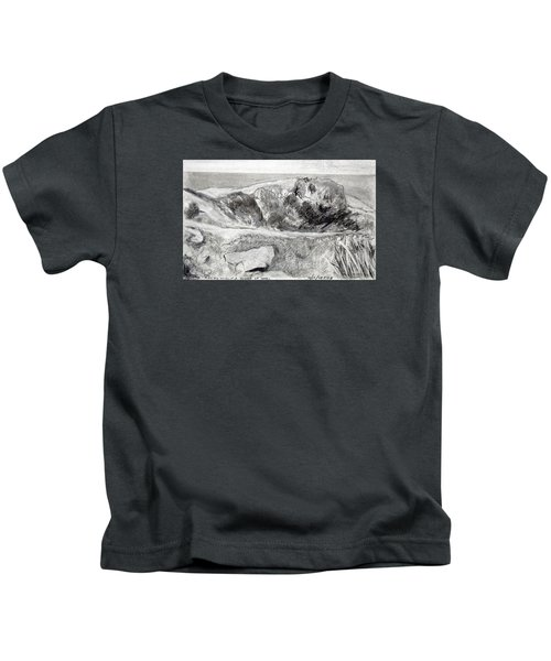 From My Window A Clump Of Trees Kids T-Shirt