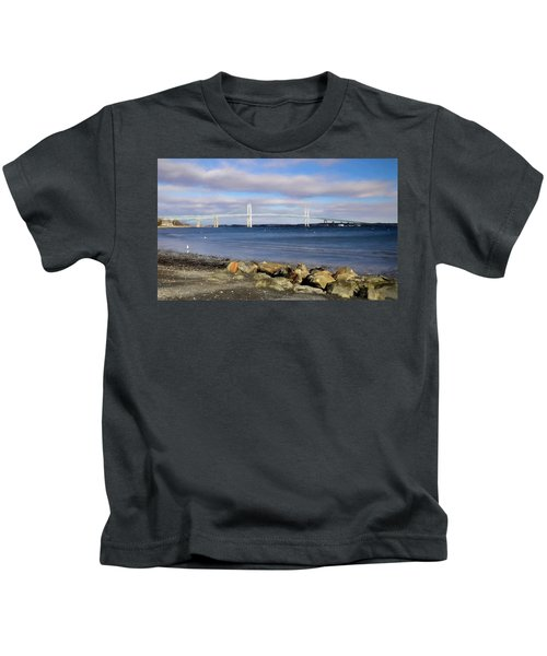 From The Shores Of Jamestown Kids T-Shirt