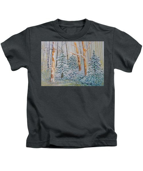 Winter Frost Kids T-Shirt
