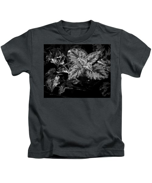Frosted Hosta Kids T-Shirt