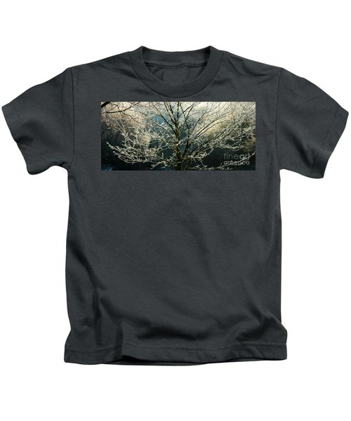 Frosted Trees Kids T-Shirt