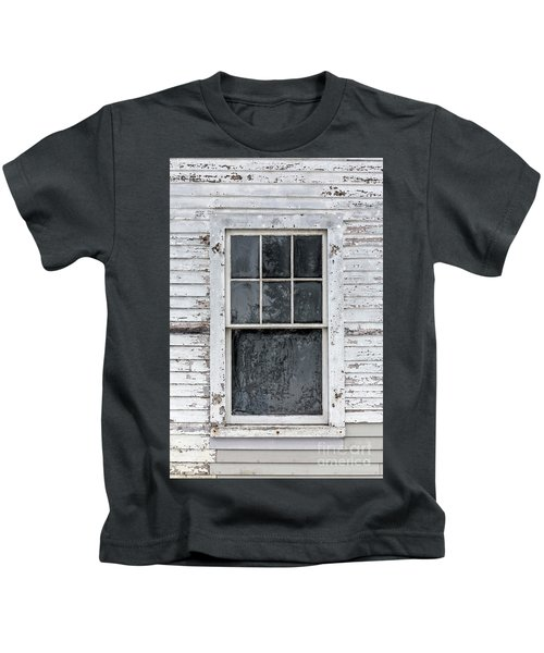 Frosted Window On An Old House Kids T-Shirt