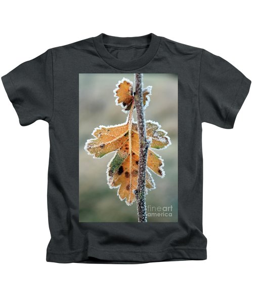 Frosty Leaf Kids T-Shirt