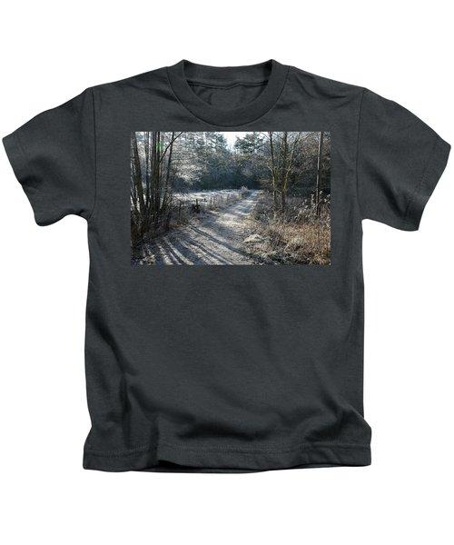 Frosty Morning Kids T-Shirt