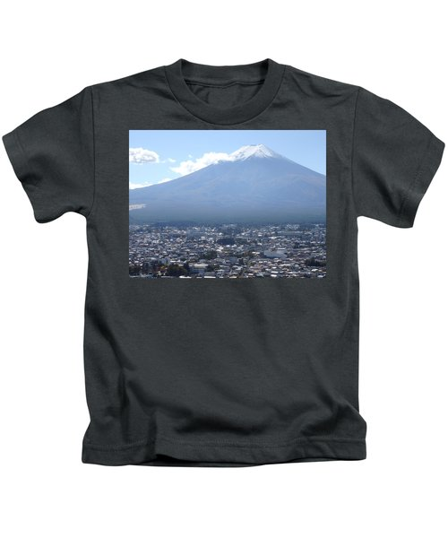 Fuji From Churei Tower Kids T-Shirt