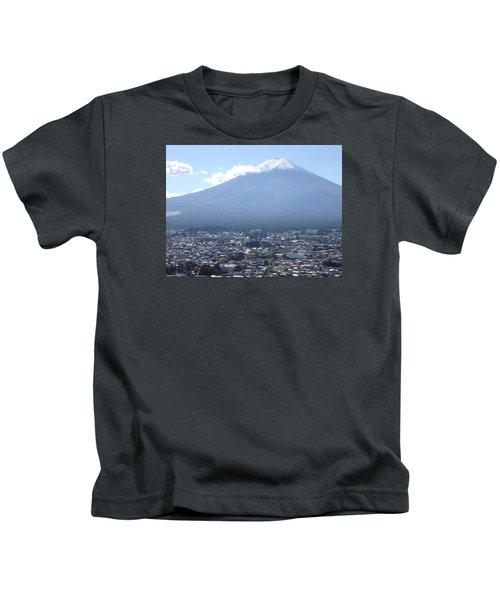 Fuji From Churei Tower Kids T-Shirt
